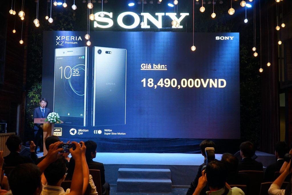 Giá bán Sony Xperia Premium