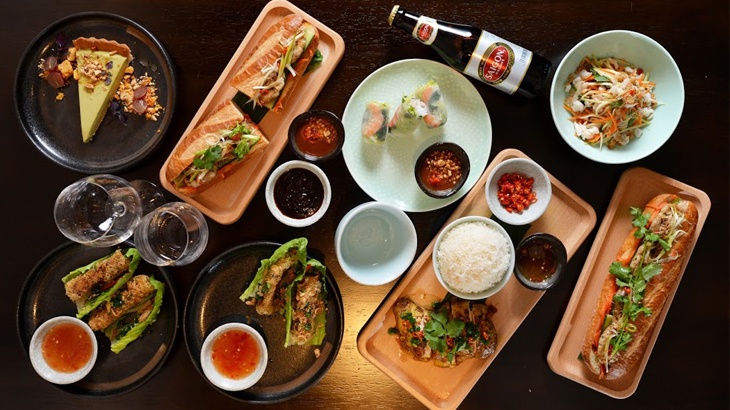 Thực đơn phong phú và bắt mắt với các món ăn thuần túy Việt Nam