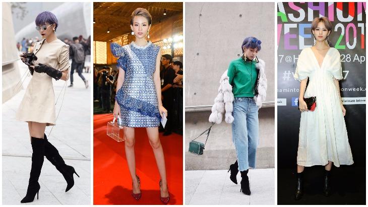 Phí Phương Anh và bước đột phá trong phong cách thời trang