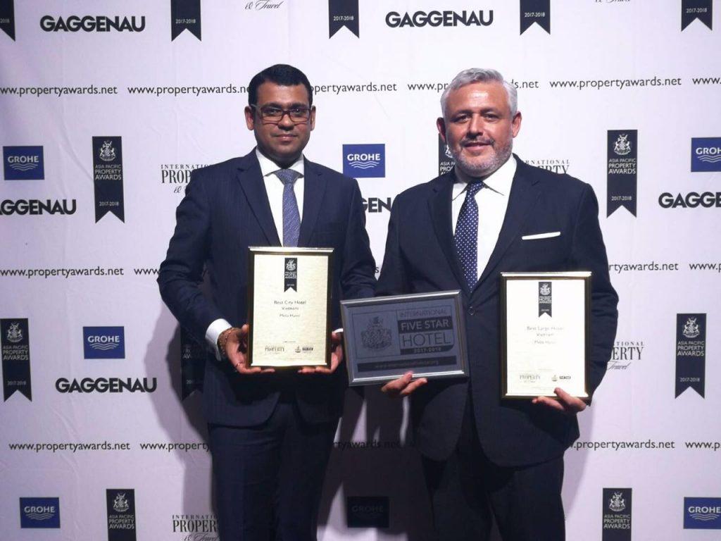 Meliá Hanoi Hotel nhận ba giải thưởng quốc tế ELLE VN