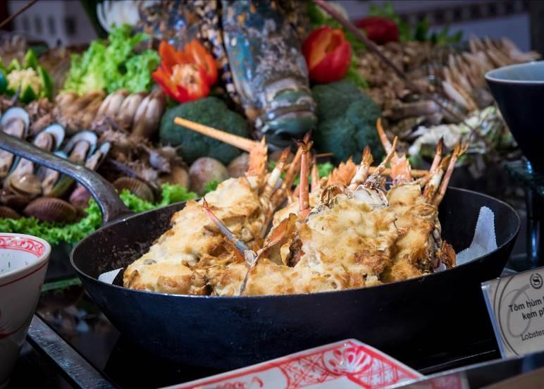 Buffet hải sản đã trở lại tại Oven D'OR ELLE VN