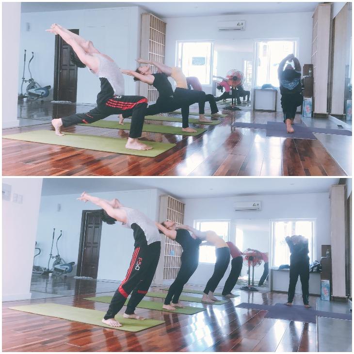 Hà Hồ cùng gia đình tập Yoga #108Challenge nhằm mục đích hướng tớ ngày hội Quốc tế Yoga tại Yoga Plus