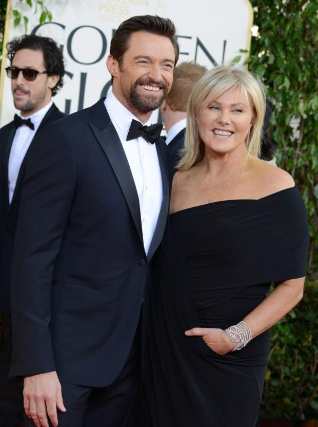 Cặp đôi Hugh Jackman (44 tuổi) và Deborra-Lee (57 tuổi)