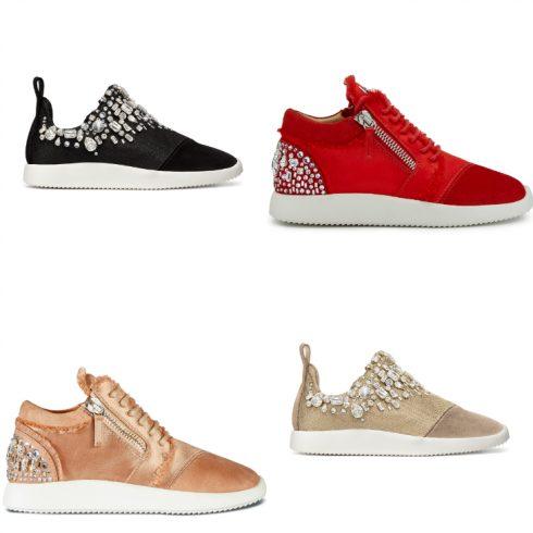 Đôi sneaker được đổi mới cho BST Hè 2017. Các chi tiết được tối giản, nhất là chi tiết dây khóa kéo. Sử dụng chất liệu có độ mềm mại hơn cùng màu sắc tinh tế. Mu giày có thể được phủ đầy các viên pha lê hoặc kết thúc bằng lớp vải lụa mềm mại.