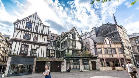 Du lịch Pháp: Rouen, thành phố cổ nhất nước Pháp