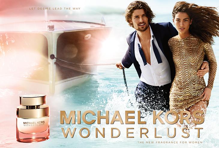Siêu mẫu Lily Aldridge làm đại diện cho chiến dịch ra mắt nước hoa Wonderlust