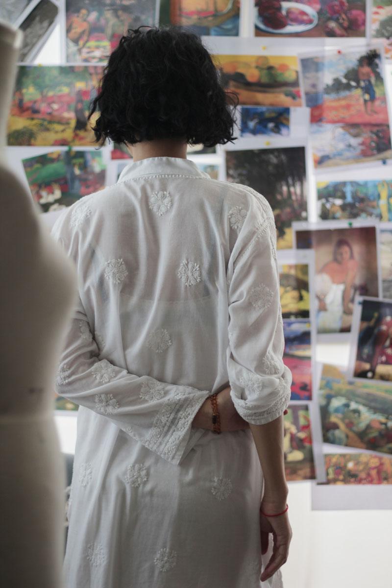 Nhà thiết kế Li Lam: Cái đẹp là thuốc an thần cho tất cả mọi người