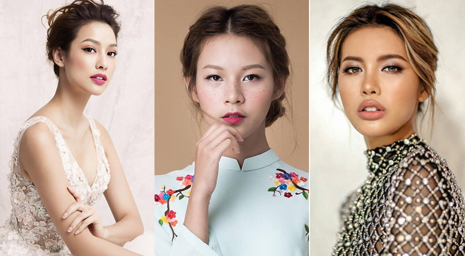 top 3 nu model - elle vietnam
