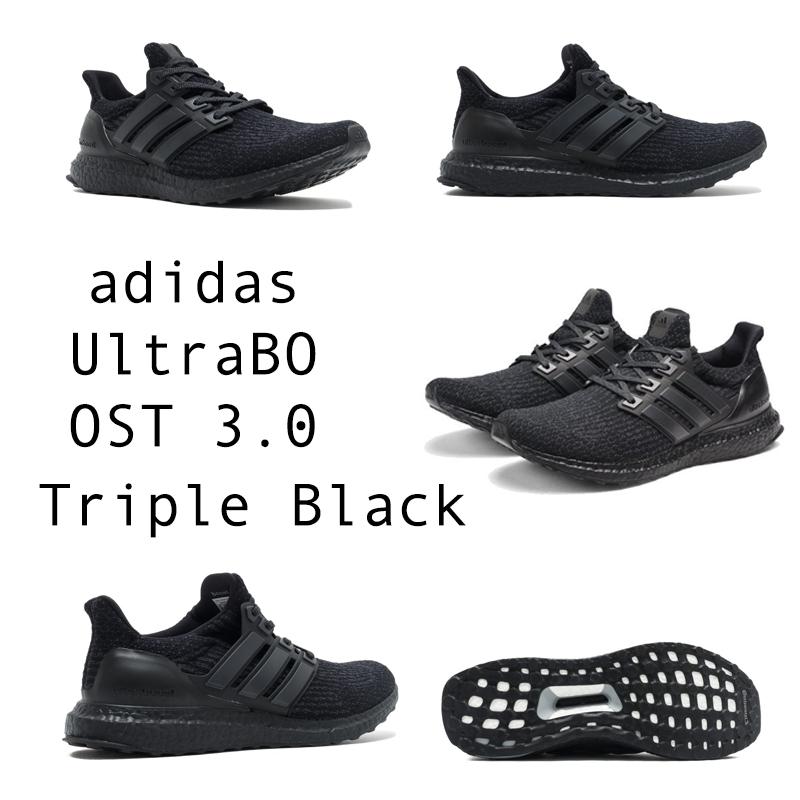 """Adidas Ultra Boost 3.0 """"Triple Black"""" sẽ chính thức lên kệ vào ngày 28 tháng 6 năm 2017. Chắc chắn rằng các tín đồ của hãng giày thể thao Adidas không thể bỏ qua được siêu phẩm này."""