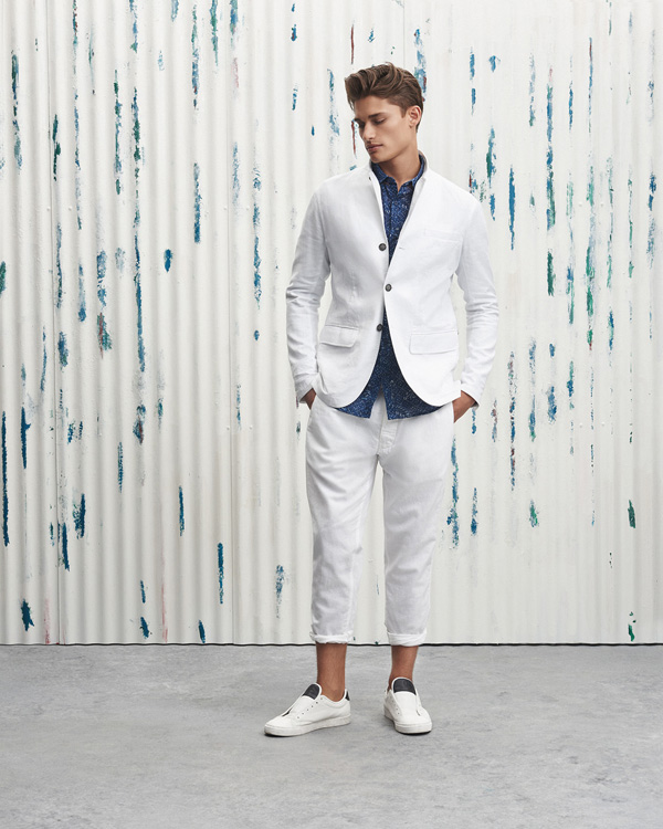 Armani Exchange - linen - elle man 2