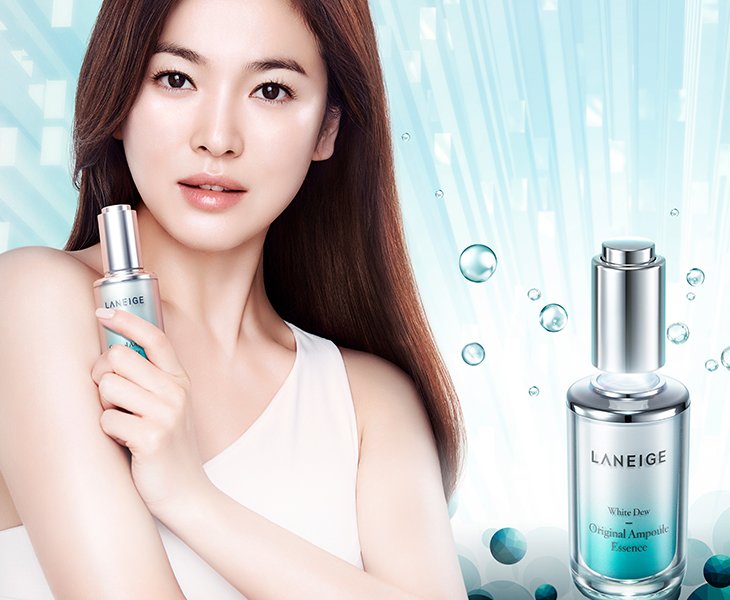 Laneige ra mắt dòng sản phẩm White Dew ngày 10/6 vừa qua
