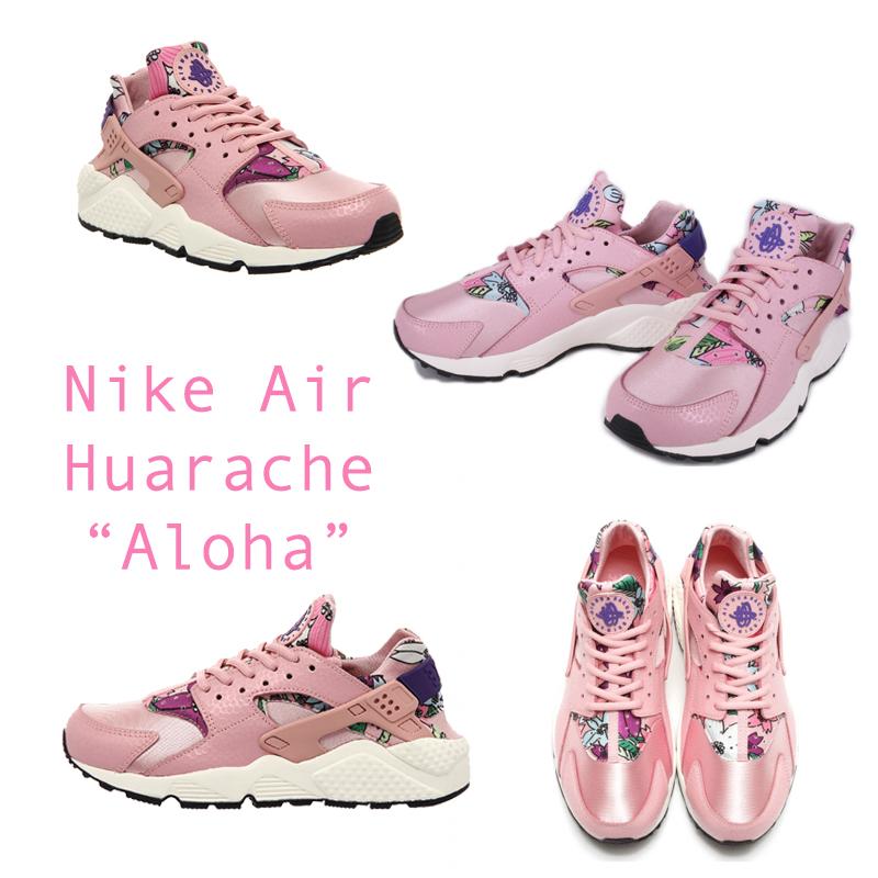 """Họa tiết hoa lá màu mè chưa bao giờ lỗi mốt trong giới thời trang khi hàng loạt các thiết kế giày sneaker đang hướng đến họa tiết retro. Và Nike Air Huarache """"Aloha"""" này cũng không phải là một ngoại lệ. Với hoạ tiết hoa lá màu mè nhưng không hề tạo cảm giác phản cảm khi kết hợp cùng với màu hồng chủ đạo, Nike Air Huarache """"Aloha"""" có thể làm các cô gái hài lòng."""