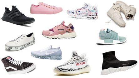 20 đôi giày thể thao thời trang đáng mua nhất năm 2017