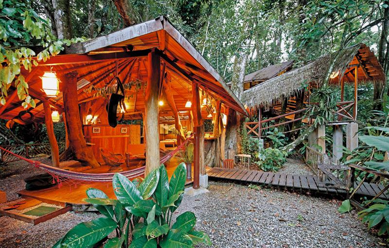 Tree house Lodge, Costa Rica