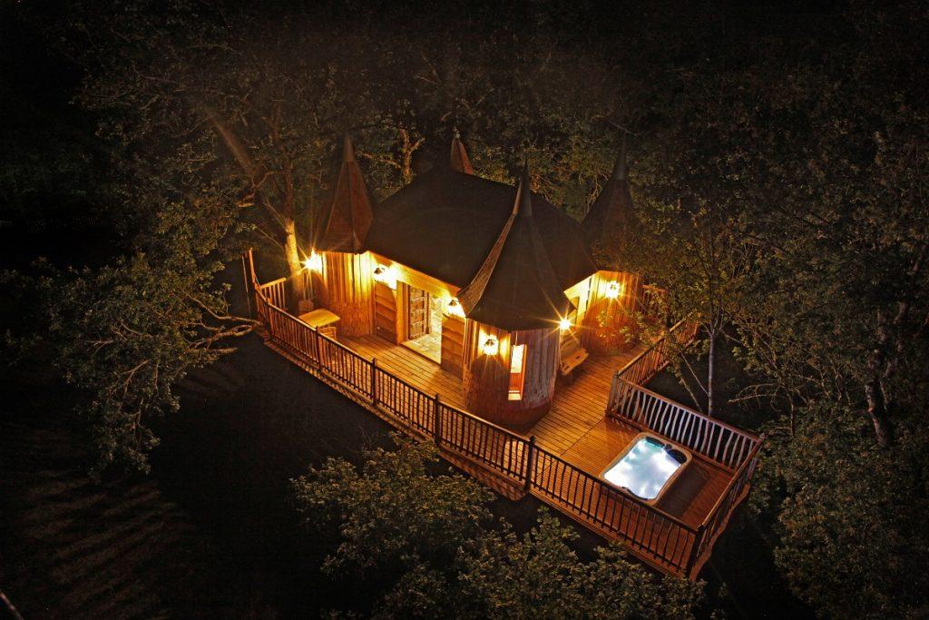 Milandes Treehouse, Pháp