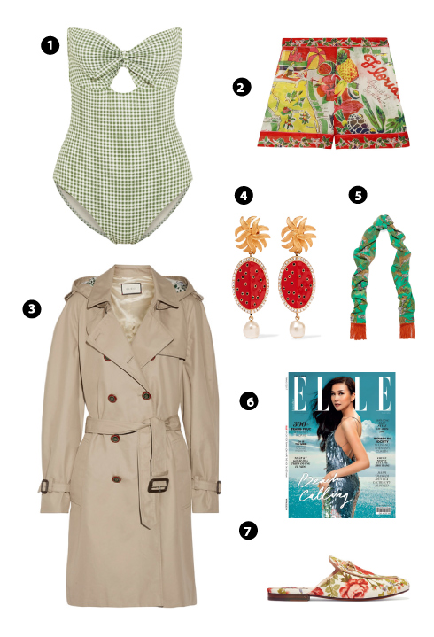 Eberjey/ Anna Suit/ Gucci/ Dolce & Gabbana/ Silken Favours/ Elle/ Gucci For Net-A-Porter
