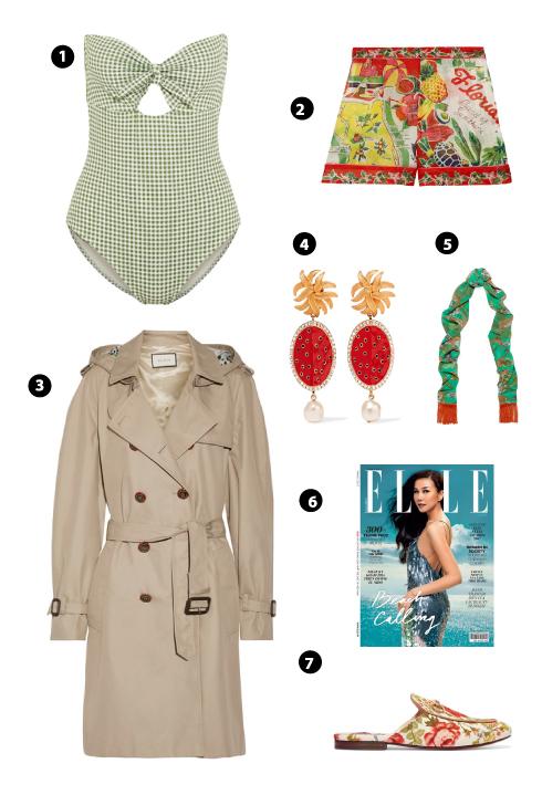 Eberjey/ Anna Suit/ Gucci/ Dolce & Gabbana/ Silken Favours/ Elle/ Gucci For Net-A-Porter