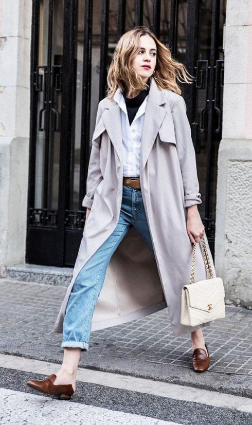 Trench coat phù hợp với nàng thanh lịch