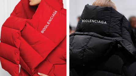 Lấy cảm hứng từ Balenciaga, thương hiệu Boolenciaga ra đời