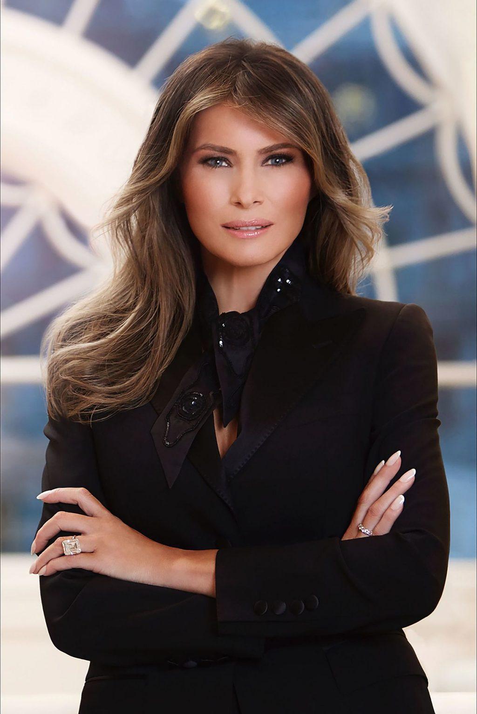 Đệ nhất Phu nhân Melania Trump.