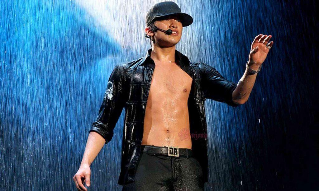 Bi Rain hình ảnh gắn liền với mưa