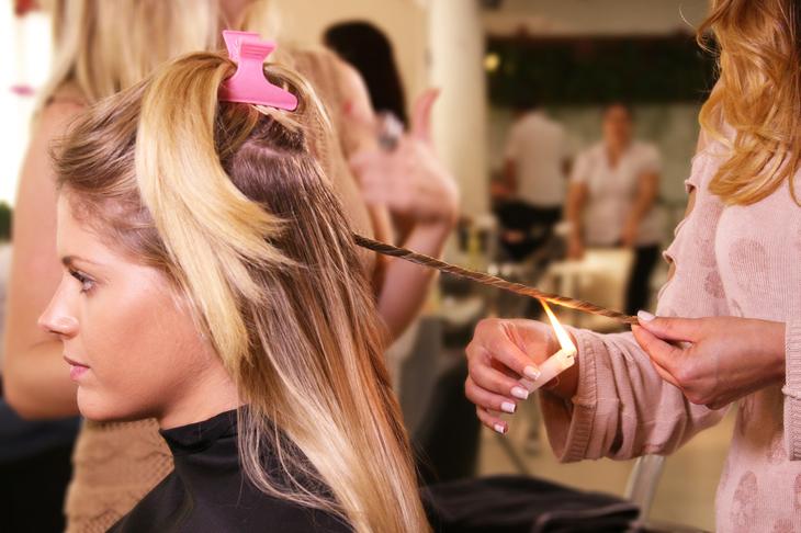 Tỉa tóc bằng lửa (Velaterapia)