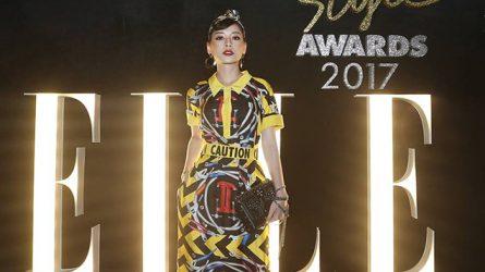 Chi Pu đoại giải Nữ diễn viên phong cách nhất tại ELLE Style Awards 2017