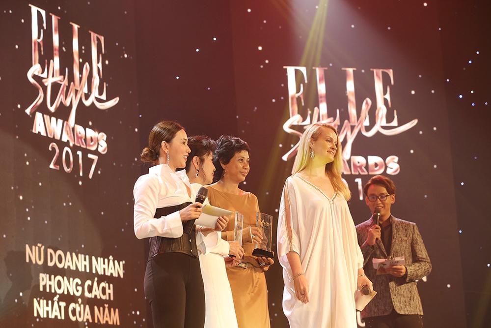 Giải thưởng Doanh nhân phong cách nhất của năm tại ESA 2017