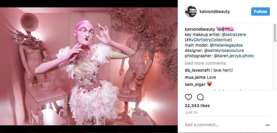 Instagram của Kat Von D