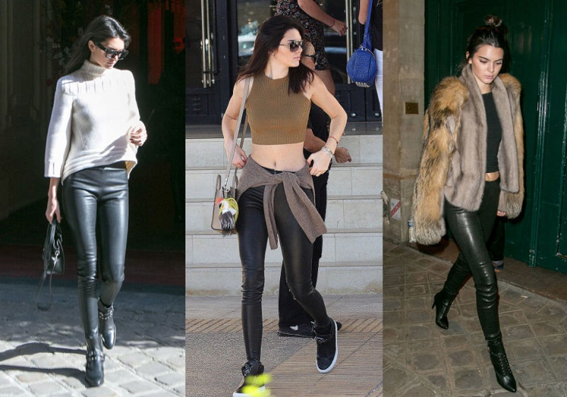Thay vì legging, hãy chọn những chiếc quần da