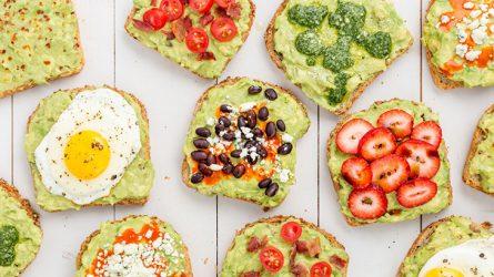 Hãy làm phong phú bữa ăn sáng cho bản thân từ những trái bơ
