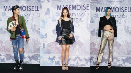Sao Hàn sành điệu dự triển lãm thời trang Chanel Mademoiselle Privé