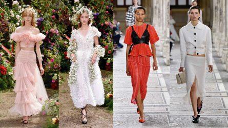 Rodarte và Proenza Schouler mở màn ấn tượng tại tuần lễ thời trang Paris Haute Couture