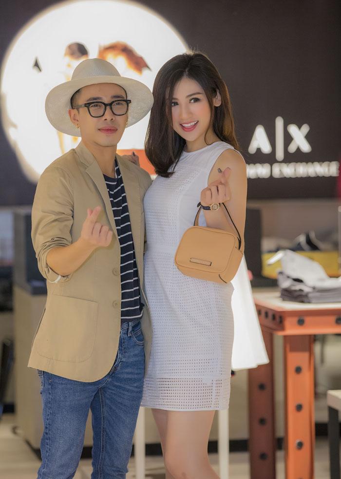 khai truong armani exchange - elle vietnam 14