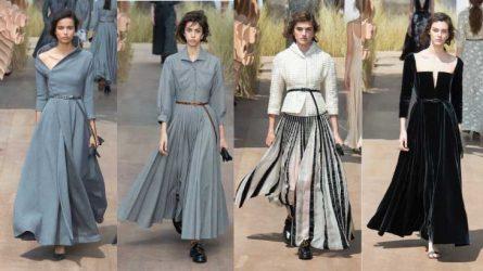 BST thời trang Haute Couture Dior Thu 2018 – Thám hiểm qua vùng đất trắng