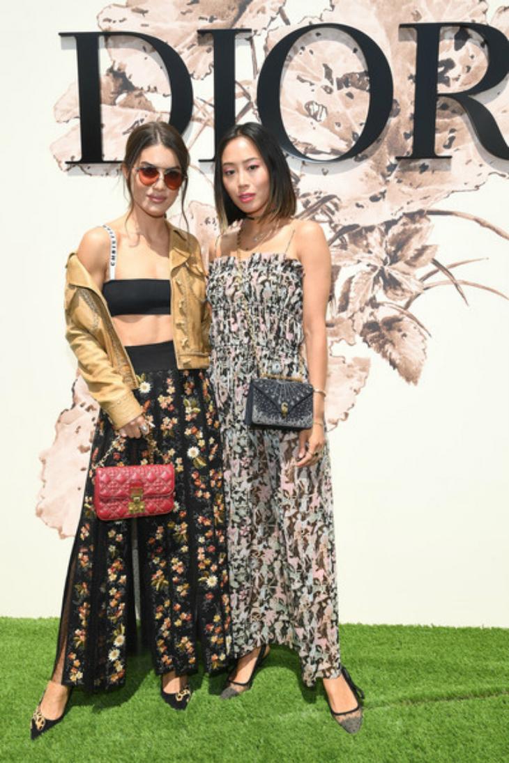 Fashionista người Hàn Quốc cũng Aimee Song cũng tham dự sự kiện Dior Fashion Haute Couture Fall/Winter lần này