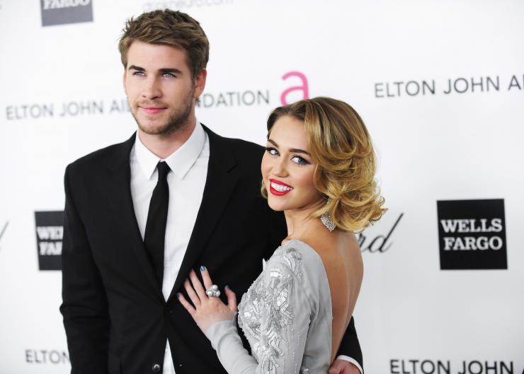 Miley Cyrus đã quay về bên bạn trai Liam Hemsworth