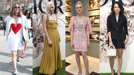 Phong cách của sao tại Tuần lễ thời trang Haute Couture Thu-Đông 2017-18