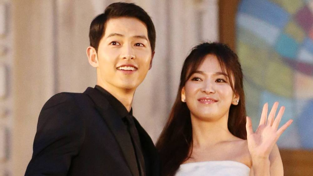 Song Joong Ki va Song Hye Kyo - elle vietnam 7