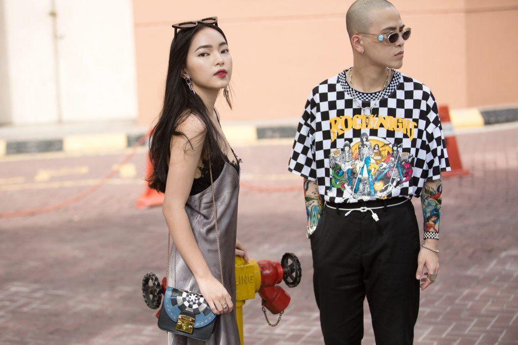 Cặp đôi đã trở thành biểu tượng thời trang của giới trẻ trên các trang mạng xã hội