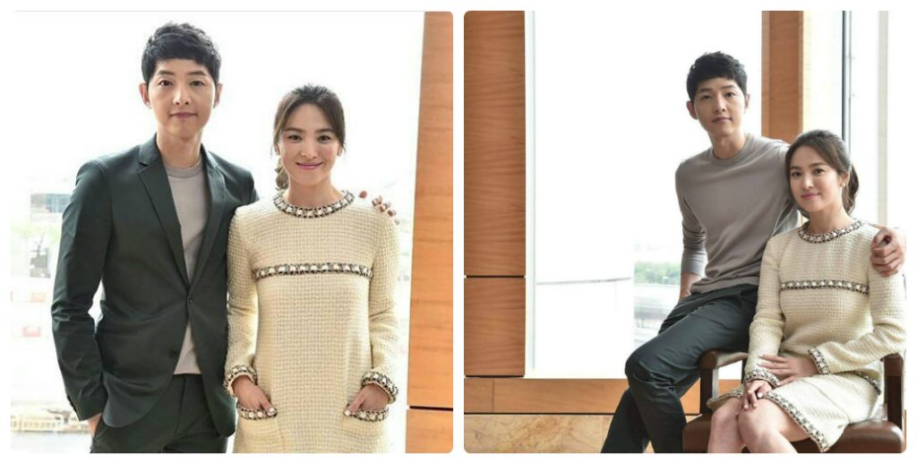 Song Hye Kyo và Song Joong Ki những lần tái xuất đẹp đôi