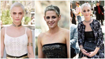 Xu hướng tóc tém bạc trắng nổi bật giữa thảm đỏ Haute Couture
