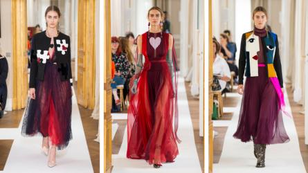 Thời trang Haute Couture bay bổng và lãng mạn như Schiaparelli Thu-Đông 17/18