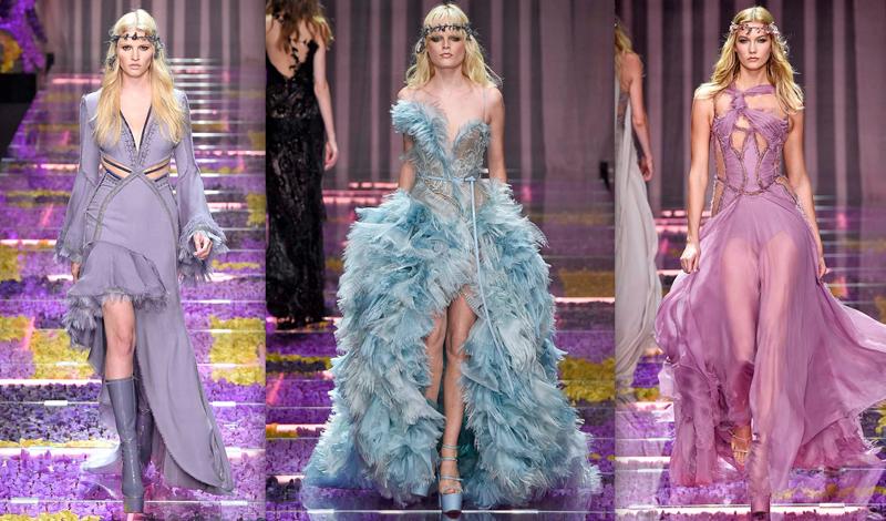 Show Haute Couture của Versace vào năm ngoái.