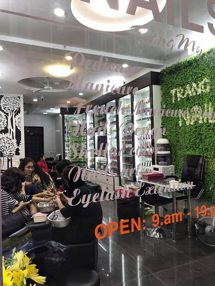 """Trang My nail là một trong số ít những tiệm nail thuộc diện """"lâu đời"""" tại Hà Nội"""