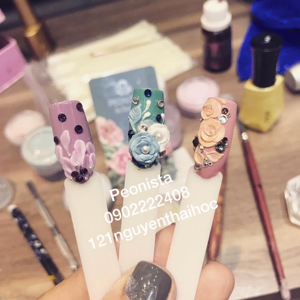 Các mẫu nail của Peonista đáp ứng phong cách và sở thích đa dạng của khách hàng
