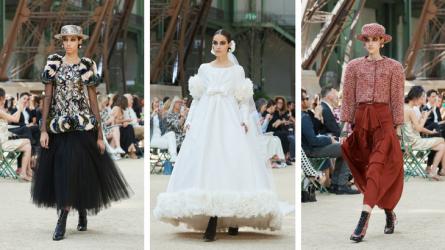 Thời trang Haute Couture CHANEL Thu 2017/18 – Nước Pháp vạn tuế