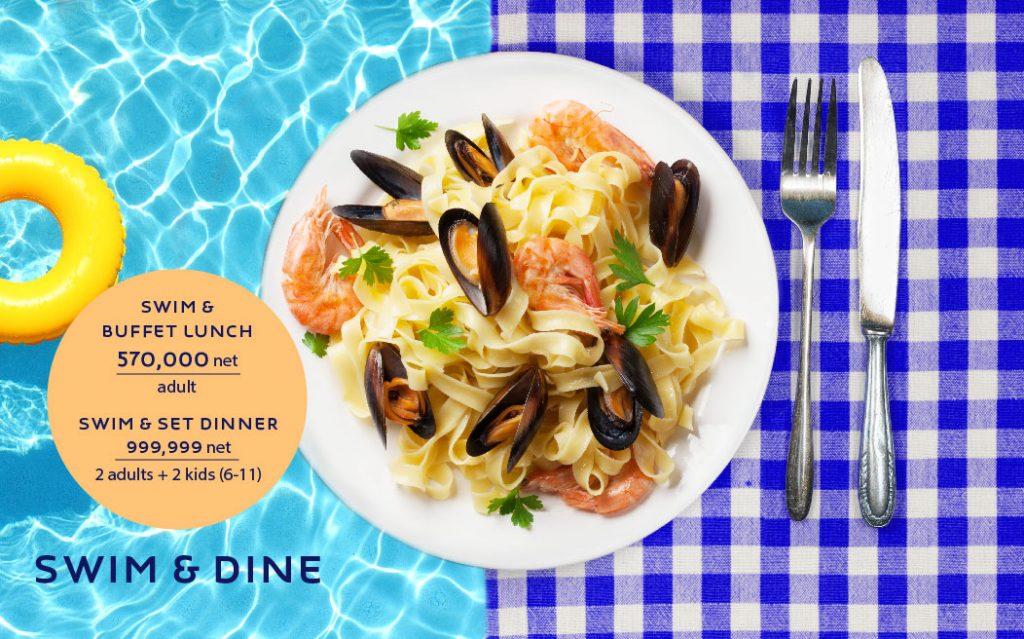 """Giải nhiệt mùa hè cùng """"Swim and Dine"""" tại Novotel Suites Hanoi"""