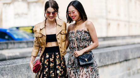 Thời trang đường phố rộn ràng từ Paris Haute Couture Thu-Đông 2017/18