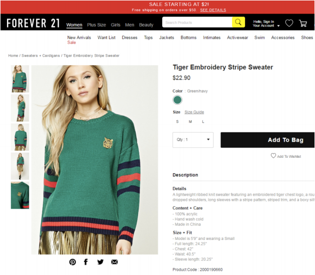 thuong hieu thoi trang gucci-forever-21-plagiarism-05